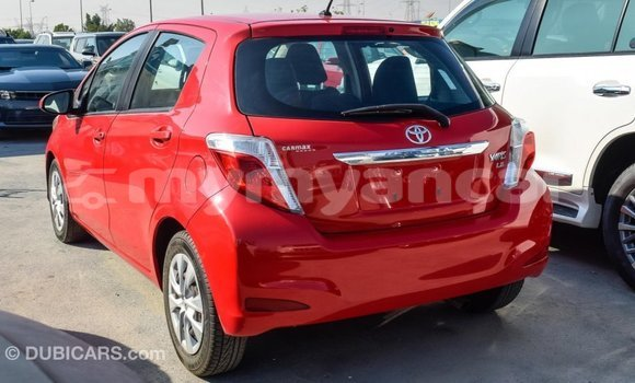 Buy Import Toyota Yaris Red Car in Import - Dubai in Ayeyarwady