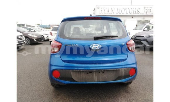 Buy Import Hyundai i10 Blue Car in Import - Dubai in Ayeyarwady